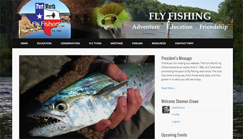 Time to Change Things Up a Bit at fortworthflyfishers