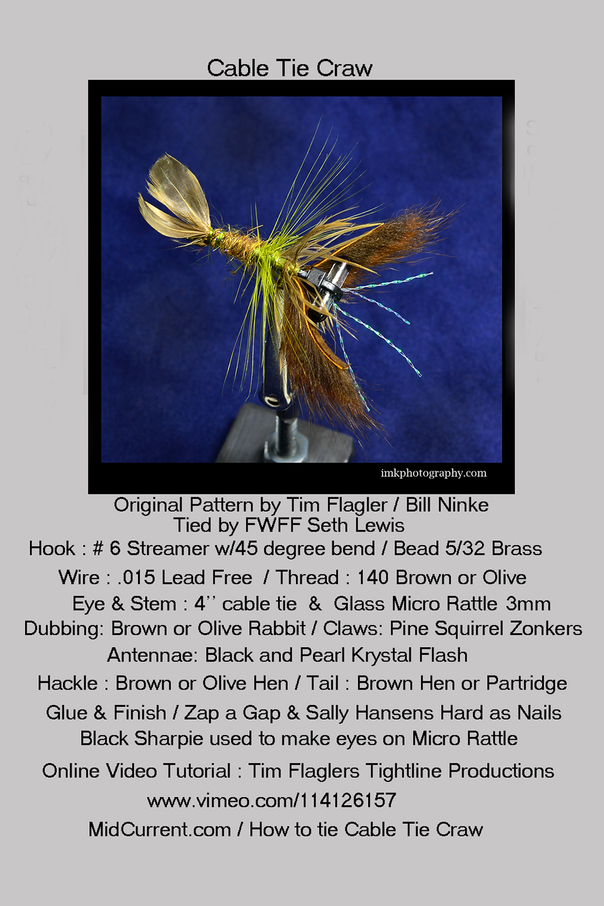 IMK_6983 Cable Tie Craw 4x6 card