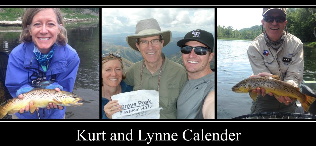 April 2015 Members of the Month–Kurt and Lynne Calender