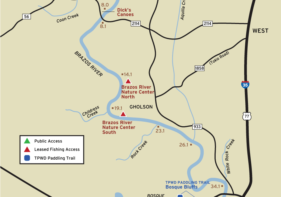 April Outing – Brazos River Float Trip – April 25th
