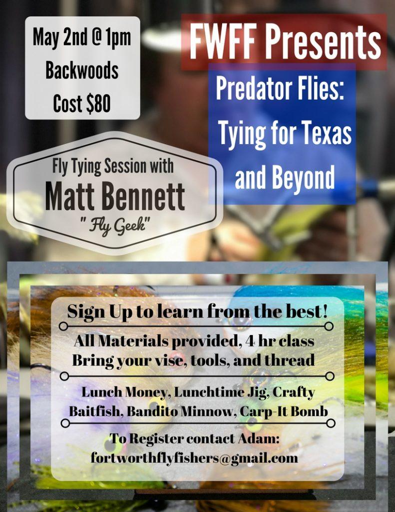 Matt Bennett May 2nd
