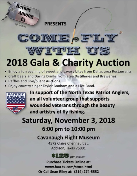 Patriot Anglers benefit on Nov. 3
