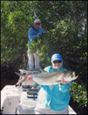 Beyond Catching: Fly fishing the Everglades with November speaker Capt. Ed Tamson