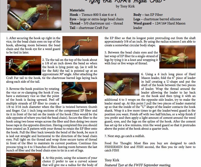 Kirk's Algae Crab